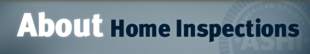 About Home Inspections Banner
